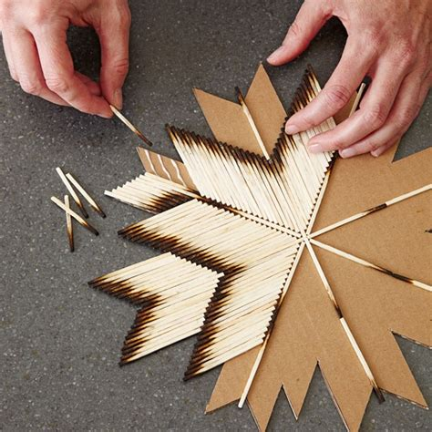 matchstick craft for matchstick craft crafters garden recycle glue