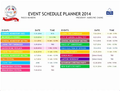 calendar of events template word 12 excel daily calendar template exceltemplates