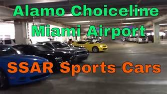 Sports Car Rental Airport Alamo Choiceline Ssar Sports Cars At Miami Airport