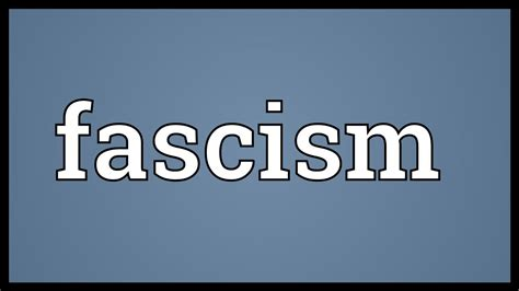 fascism today what it is and how to end it books fascism meaning