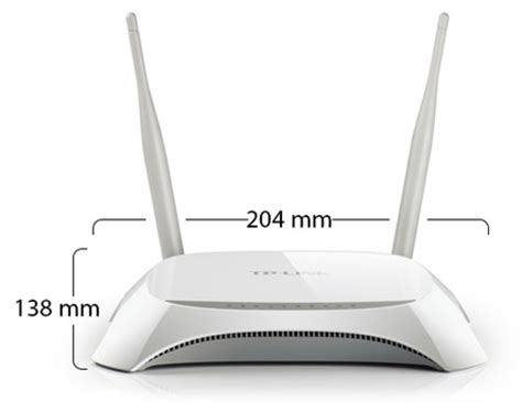 Wifi Router Tp Link 3220 Tl Mr3220 3g 4g Wireless N Router
