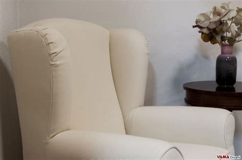 how to cover an armchair with fabric berg 232 re armchair with big ears and removable cover