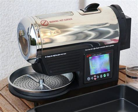 Hottop Coffee Roaster home coffee roasting with hottop 8828 roasting machine