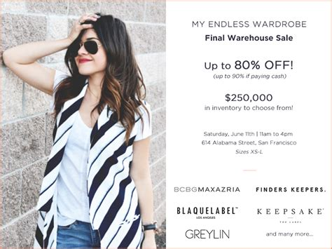 Endless Wardrobe by Endless Wardrobe Warehouse Sale At A Muse Gallery