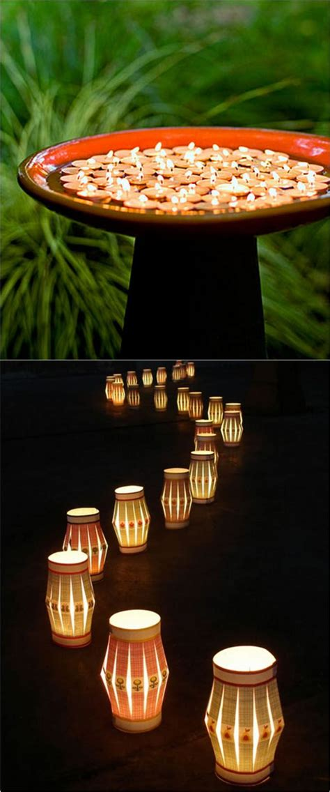 28 stunning easy diy outdoor lights jars path lights