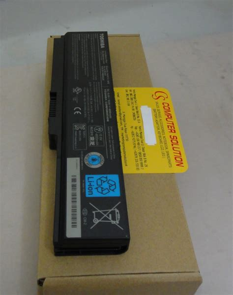 Baterai Laptop Original Toshiba Satellite L740 L745 Series Model jual baterai original toshiba satellite l630 l635 l640