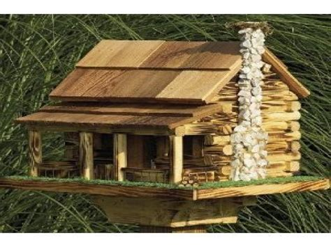 large bird house plans large bird feeder plans log cabin bird house plans log cabin house plans free