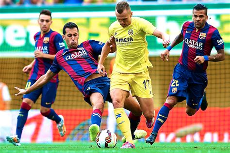 barcelona live score villarreal vs barcelona live score highlights from la