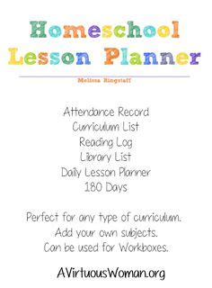 printable kitchen planner add on a virtuous woman homeschool lesson planner 40 pages 0 99 a virtuous