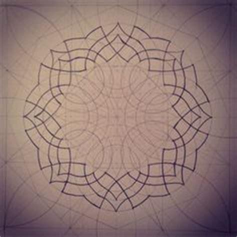 geometric pattern analysis geometry sketch eleven archival print vintage style