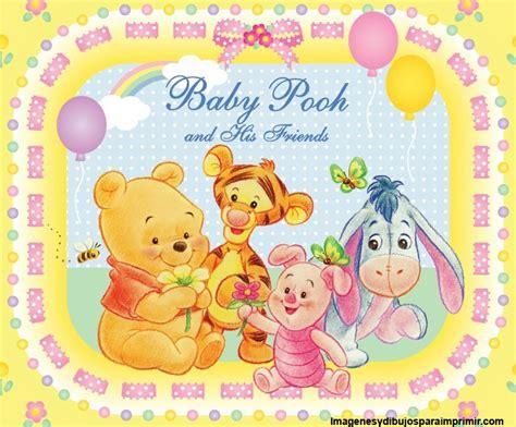 imagenes de winnie pooh y sus amigos bebe winnie the pooh bebe para imprimir