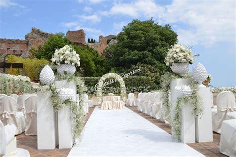 giardini naxos cap petali e capricci weddings fioristi per passione