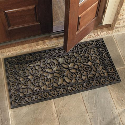 Front Door Welcome Mat Highgate Doormat Door Doormats By Ballard Designs