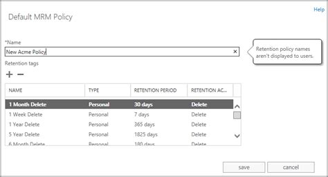 Office 365 Retention Policy Extended Email Retention For Deleted Items In Office 365