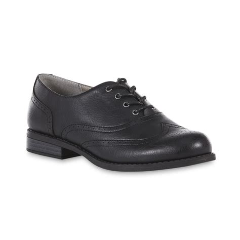 black oxford shoe bongo s oksana black oxford shoe