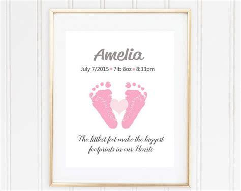 baby room kunst ideen custom baby handprint wall nursery decor new baby