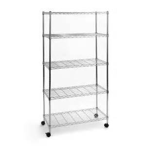 home depot wire shelving seville classics 5 shelf 30 in x 14 in home wire