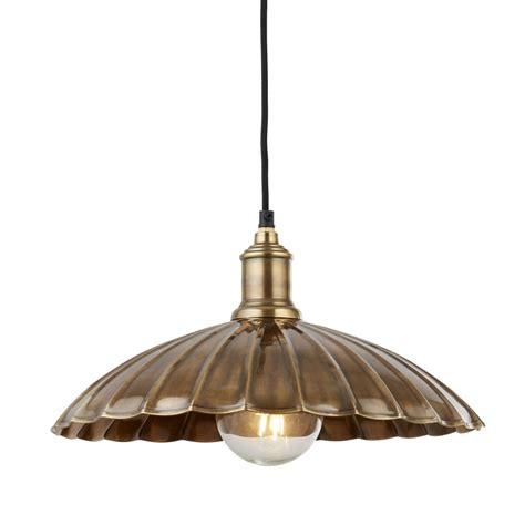 Umbrella Ceiling Light Searchlight Lighting Umbrella Single Light Ceiling Pendant In Antique Brass Finish Lighting