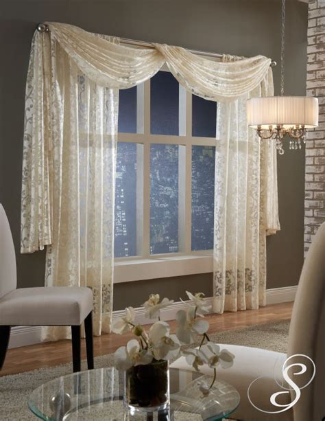 how to hang sheer scarf curtains 25 best ideas about valance curtains on pinterest