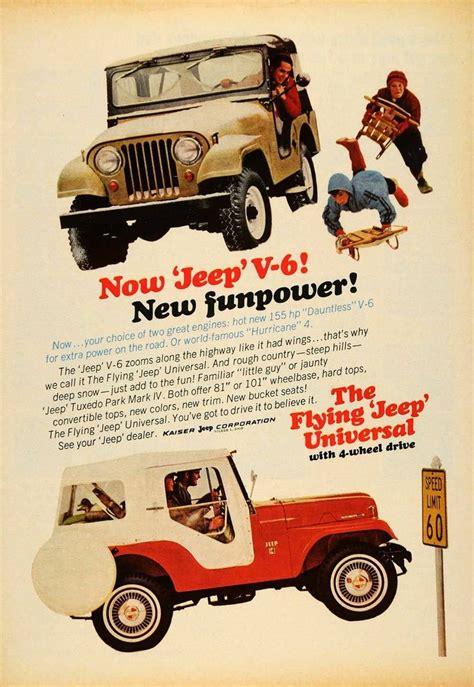 vintage jeep ad 1965 ad kaiser jeep corp tuxedo park mark iv automobile