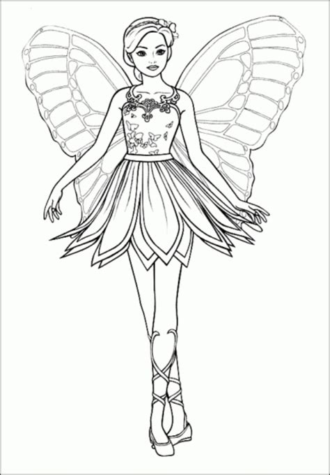 print amp download barbie princess coloring pages