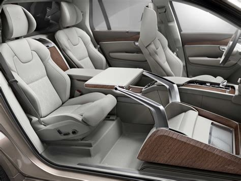 Volvo Car Seats by Volvo Xc90 Lounge Concept Looks Business Insider