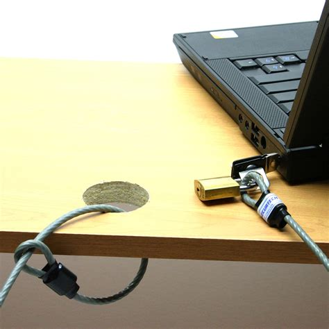 How To Lock A Laptop To A Desk How To Lock A Laptop To A Desk Laptop Desk Lock Cl049 Compu Lok Universal Computer Lock Kit