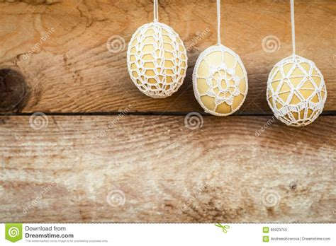 crochet pattern easter eggs stock image image 65923755