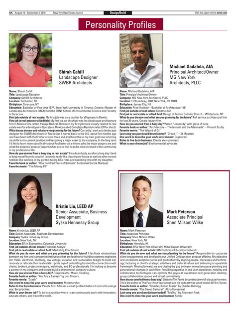 peterson featured in new york real estate journal shen milsom wilke