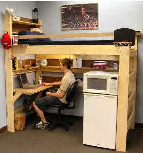 Loft Bunk Beds Kids Youth Teen College Adults College Bed