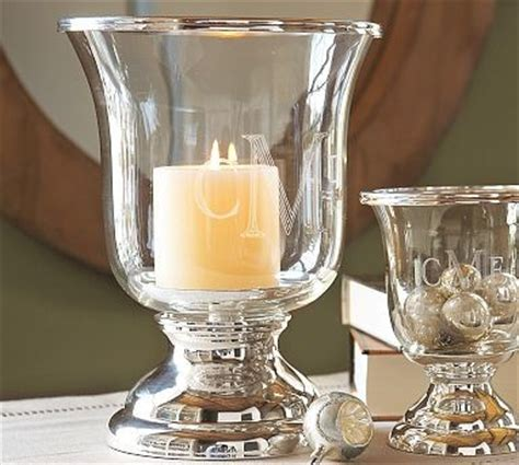 Large Candle Hurricanes Silver Plated Hurricane Large Traditional
