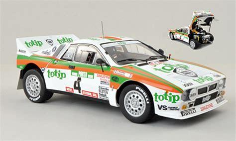 Lancia Portugal Lancia 37 Miniature No 4 Totip Rally Portugal 1985 T