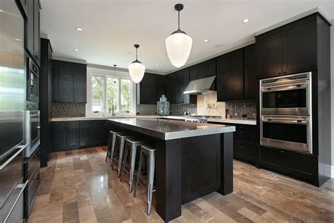 one color fits most black kitchen cabinets black kitchen cabinets pictures ideas tips from hgtv with