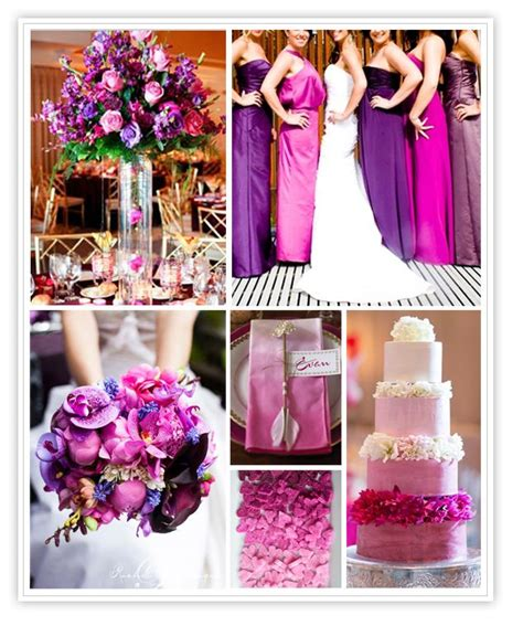 violet fuschia wedding purple weddings wedding fuschia wedding and shades