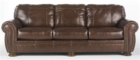 palmer leather sofa palmer walnut sofa by furniture 2050038 leather