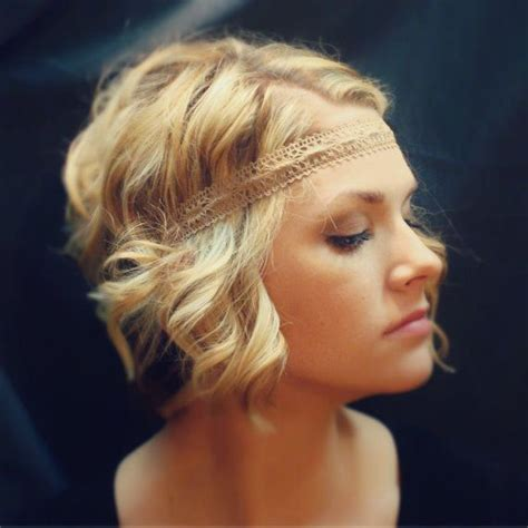 headband casual hairstyles brown ivory tan or white casual lace boho headband by