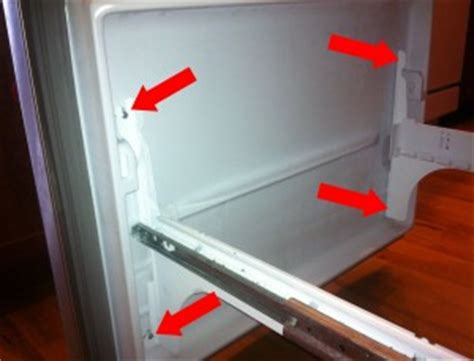 Samsung Refrigerator Drawer Removal by Fix Whirlpool Maytag Fridge Buildup Netscraps