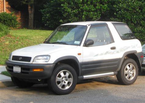 Toyota Rav4 Size File 1996 1997 Toyota Rav4 Jpg Wikimedia Commons