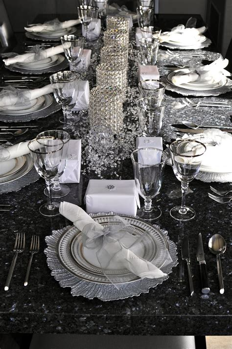 luxury new year get a luxury table setting for new year s