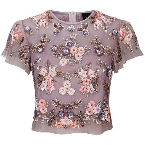 beaded and sequined tops best 20 embellished top ideas on