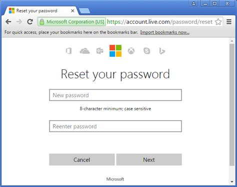 windows 8 reset password microsoft reset forgotten microsoft account password for windows 10 8