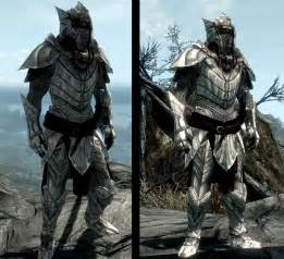 best light armor in skyrim elven dragonbone light armor set at skyrim nexus mods