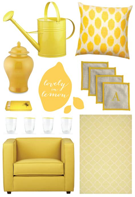 Home Decor Yellow Distance Loving