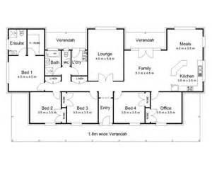 Colonial Home Plans And Floor Plans The Hampden 171 Australian House Plans