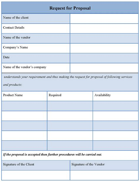 template rfp request for template e commercewordpress