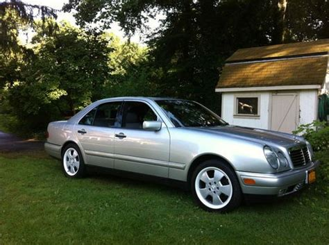 97 Mercedes E320 by Purchase Used 97 Mercedes E320 39 000 Silver W