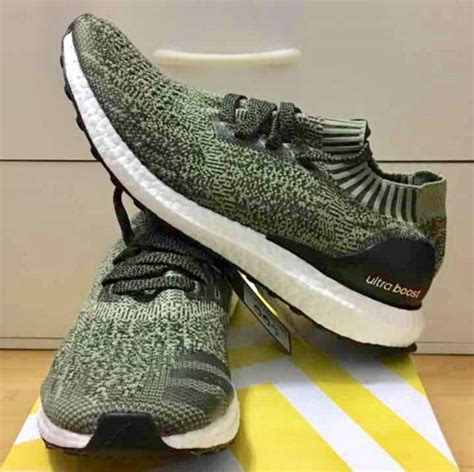 Adidas Ultra Boost Uncaged Olive Green 1 adidas ultra boost uncaged pk green olive black bb3901 m8us kixify marketplace