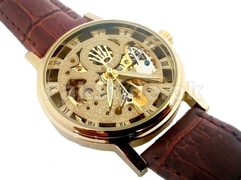 Rolex Skeleton Leather 1 rolex skeleton automatic shop it pk