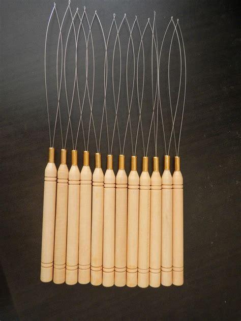 micro bead tool hair extensions micro rings loop tool loop threader