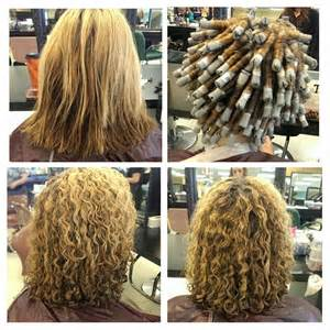 differnt methods of a spiral perm for hair spiral perms on pinterest
